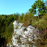 Image: By the tallest rock in Polish Jura