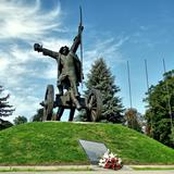 Image: Racławice - the area of the historic Battle of Racławice