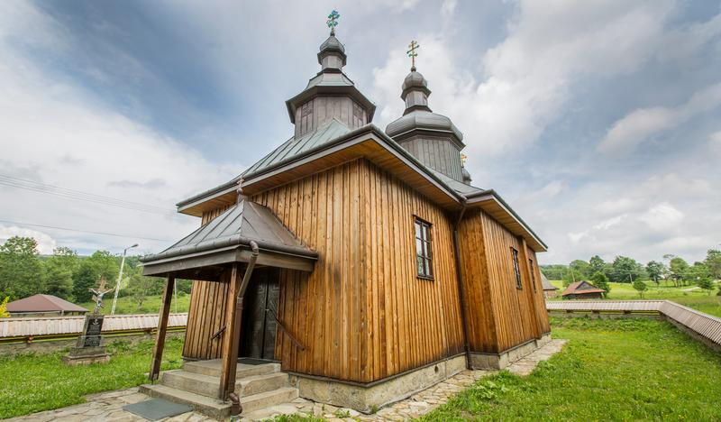 Orthodox church of Sts. Cosmas and Damian, Bartne