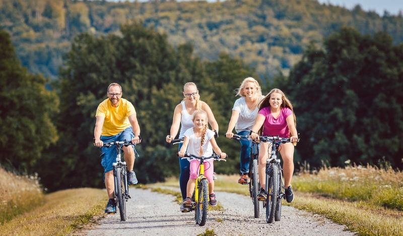 Family Bicycle Rallies-summer in Małopolska on two wheels
