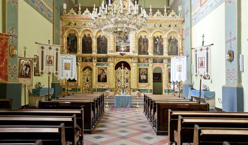 Greek Catholic Church of St. Norbert and Parish of the Exaltation of the Holy Cross in Krakow